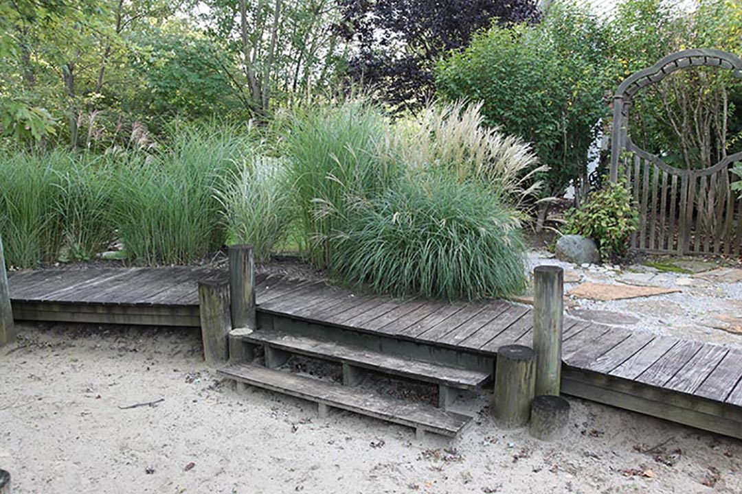 Dock and Sand